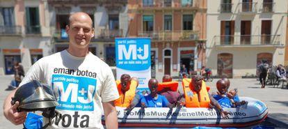 Alejandro Plans Beriso, candidato número 1 a las elecciones europeas por el partido Por Un Mundo Más Justo.