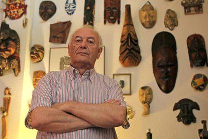 Luis Vega, presidente de AMAL, una de las asociaciones denunciadas por la procesión atea.