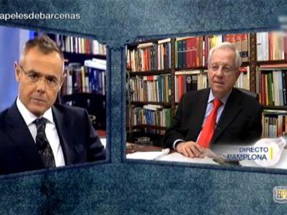 Imagen de 'El gran debate' que conduce Jordi González.
