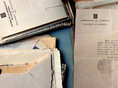 Documentación referente a Ignacio Rubio Cambronero dentro de la campaña llevada a cabo por el Arxiu Nacional de Catalunya para recuperar fondos documentales.