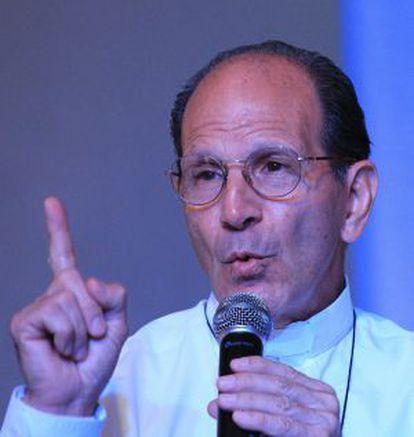 El sacerdote y activista mexicano Alejandro Solalinde.