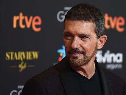 Antonio Banderas, en la última edición de los Premios Goya, en marzo.