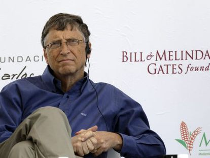 El magnate Bill Gates.