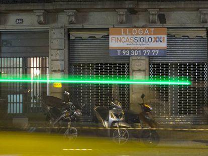 Un local en alquiler en Barcelona.