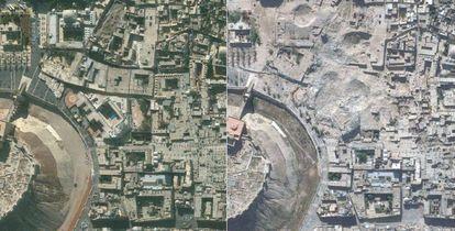 """<a href=""""http://elpais.com/elpais/2017/01/27/album/1485515546_039713.html""""><b>FOTOGALERÍA</B></A>. Dos imágenes de la ciudad siria de Alepo."""