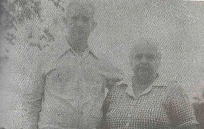 José Obrador y Úrsula González, abuelos del presidente de México. Cortesía de Blanca Gómez.