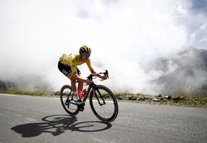 El esloveno Tadej Pogacar durante la etapa 18 del Tour de Francia del pasado 15 de julio.