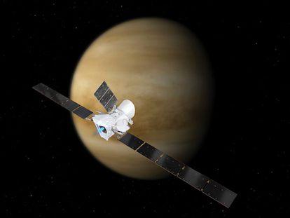 La misión 'BepiColombo', a punto de sobrevolar Venus por primera vez.