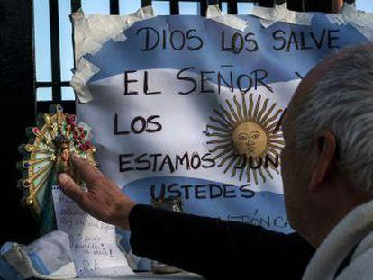 El capitán del  ARA San Juan  dio su última ubicación conocida el 13 de noviembre
