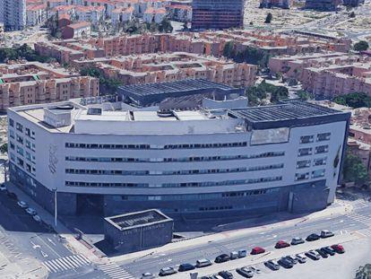 Ciudad de la Justicia de Elx (Alicante), donde el pasado lunes tuvo lugar el juicio.