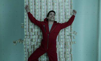 Escena de la serie 'La casa de papel'.
