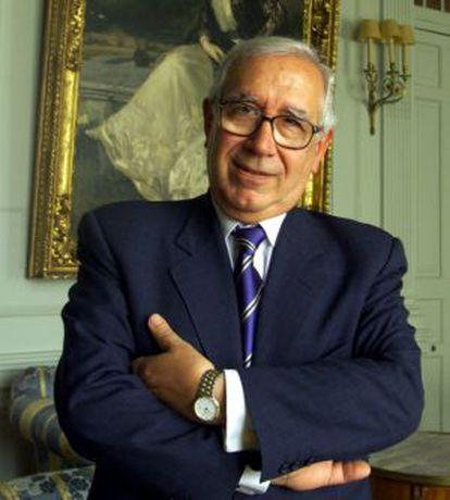 Manuel Lagares, en 2002.