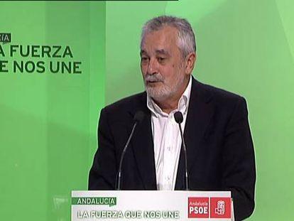 """Griñán asegura que su generación es un """"tapón"""" para la renovación"""