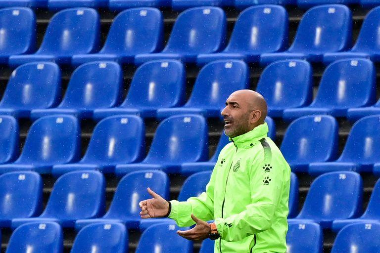 Abelardo, durante el partido del Espanyol contra el Getafe.