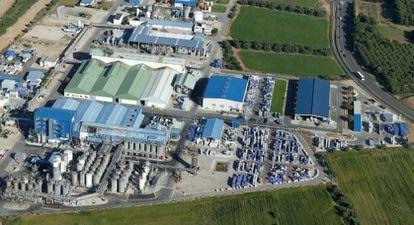 La planta de Emulsiones Poliméricas en Vila-seca (Tarragona)  EMULSIONES POLIMÉRICAS 08/07/2020