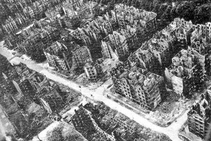 El centro histórico de Hamburgo fue arrasado por los bombardeos de la 'Operación Gomorra', a finales de julio de 1943.