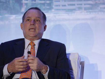 Alberto Alemán, exadministrador del Canal de Panamá.