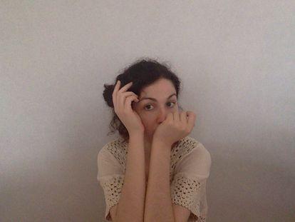 La escritora Marina Closs.