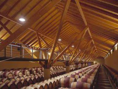 Obras de la constructora navarra ACR en Bodegas Chivite.