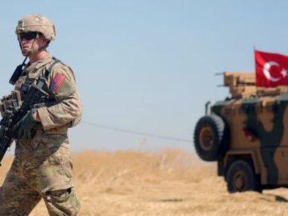 EE UU cambia de política en la zona al permitir la ofensiva de Erdogan contra sus aliados