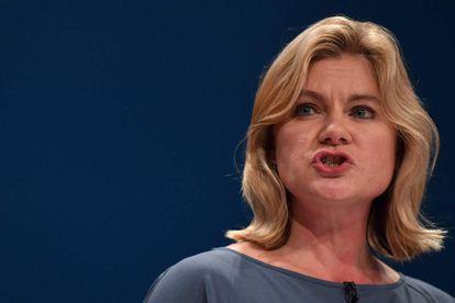 La ministra de Educación británica, Justine Greening, el pasado martes en Birmingham.