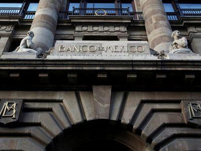 El Banco Central de México, en su edificio en el centro de Ciudad de México.