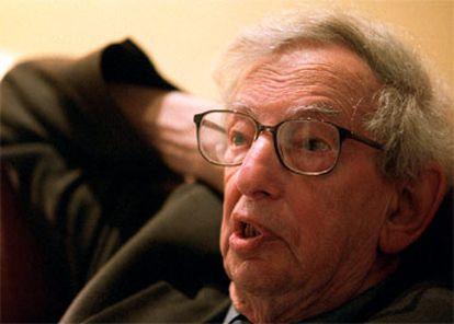 El historiador británico Eric Hobsbawm.