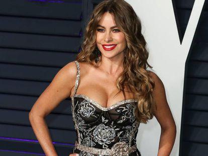 Sofia Vergara, en una fiesta posterior a los Oscar en febrero de 2019.