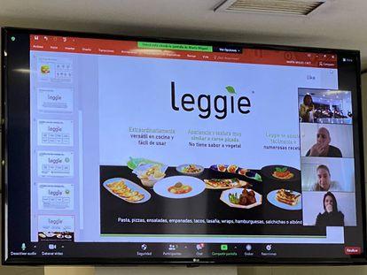 Descripcion de Leggie, la hamburguesa vegetal diseñada por Marta Miguel del CSIC. J.C. CAPEL