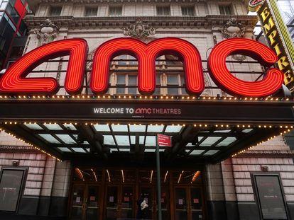 Cine de la cadena estadounidense AMC en Manhattan, el pasado 27 de enero.