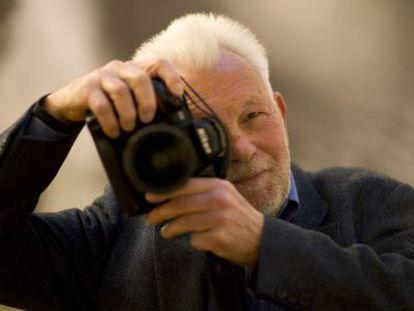 El fotógrafo alemán Robert Lebeck, en 2008