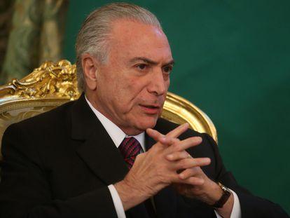 El expresidente brasileño, Michel Temer, en una imagen de 2017.