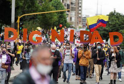 Un mes después, los colombianos siguen en las calles protestando contra el gobierno de Iván Duque.