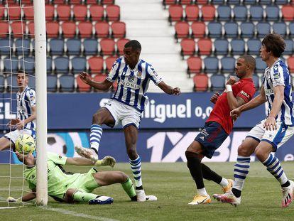 Isak mete el gol que deja en la quinta plaza a la Real y clasificada para la Liga Europa.