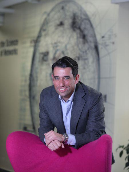 Nikolaos Laoutaris, doctor en ciencias de la computación, en las instalaciones del IMDEA Networks de Leganés.