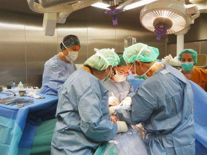 Una intervención oncológica.
