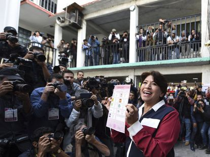 Delfina Gómez, nueva secretaria de Educación en México.
