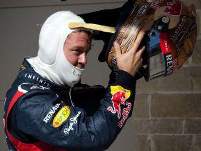Vettel, tras lograr la 'pole'