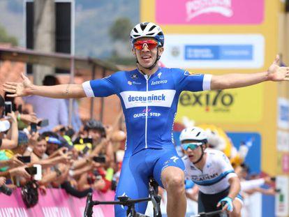 Álvaro Hodeg se impone en La Ceja.