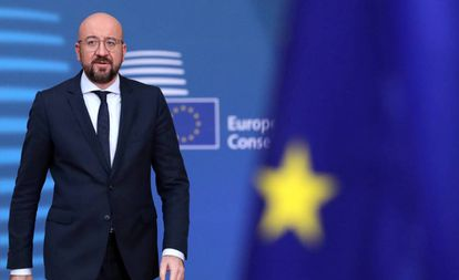 El presidente del Consejo Europeo, Charles Michel.
