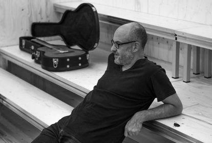 Álex Rigola, en Madrid durante un ensayo de su versión de 'Tío Vania'.