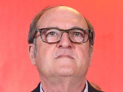 Ángel Gabilondo, en la comparecencia tras el peor resultado del PSOE en unas autonómicas madrileñas.