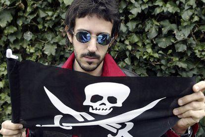 Jorge Otero, del grupo asturiano Stormy Mondays, cuya música ha sido seleccionada para despertar a los seis astronautas a bordo del transbordador espacial <i>Endeavour.</i>