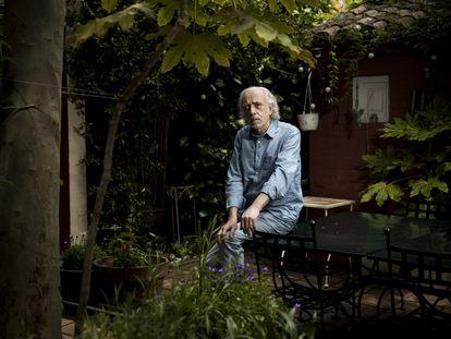 Fernando Trueba, en su casa de Madrid la semana pasada.