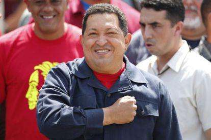 Hugo Chávez en una imagen de archivo.