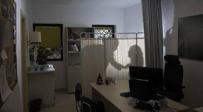 Consulta en un centro de salud de Vigo.