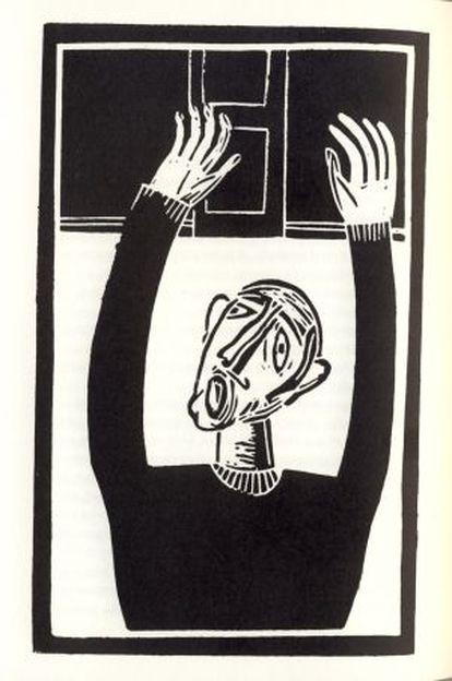 Ilustración de Antonio Santos para 'La Metamorfisis'.