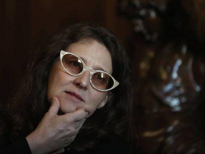 La directora de cine argentina Lucrecia Martel, en Casa América en Madrid.
