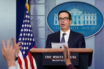 Steve Mnuchin, secretario del Tesoro, en la Casa Blanca, el pasado 11 de octubre.