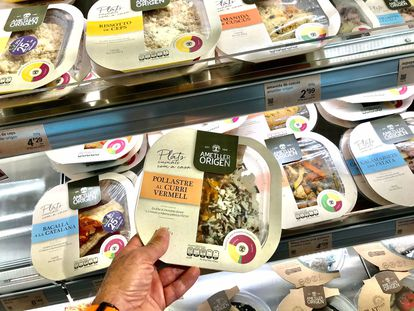 La oferta de platos preparados cada es mas variada en los supermercados.